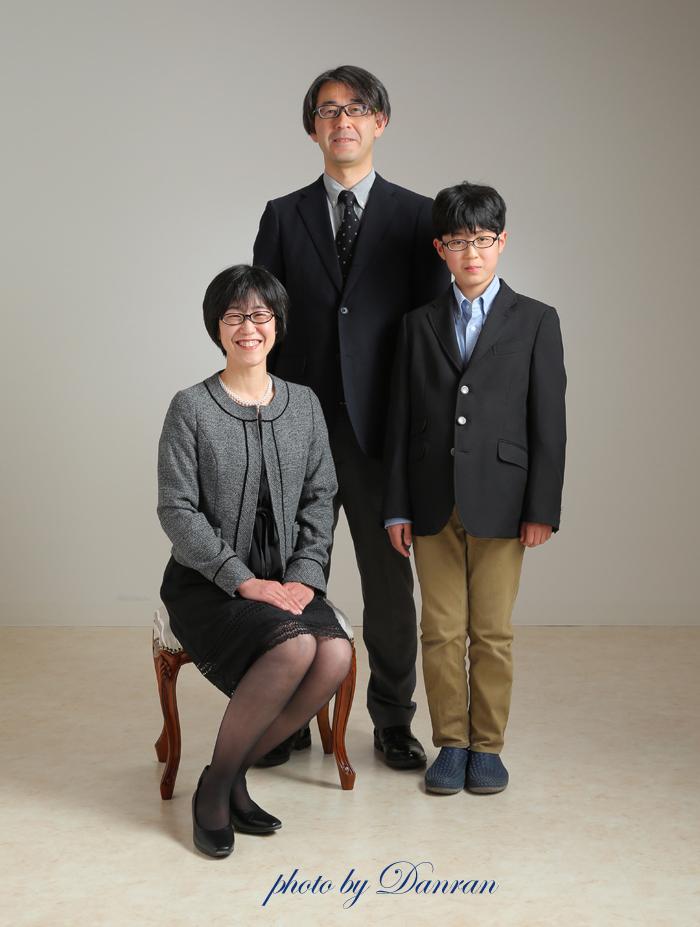 下関 家族写真