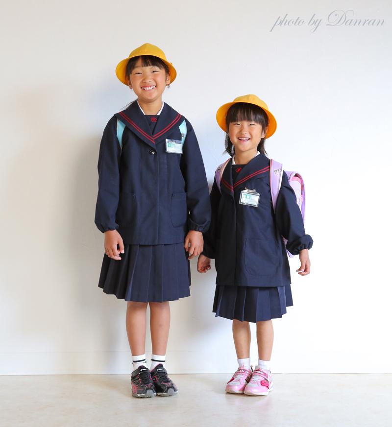 下関市 入学 記念写真