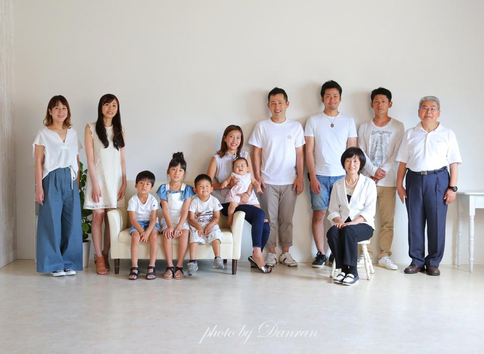 山口県、下関市、家族写真、記念写真、写真館、カメラマン