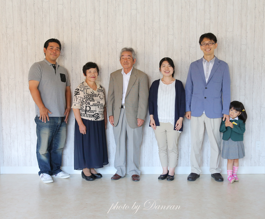 家族写真 記念写真 写真館