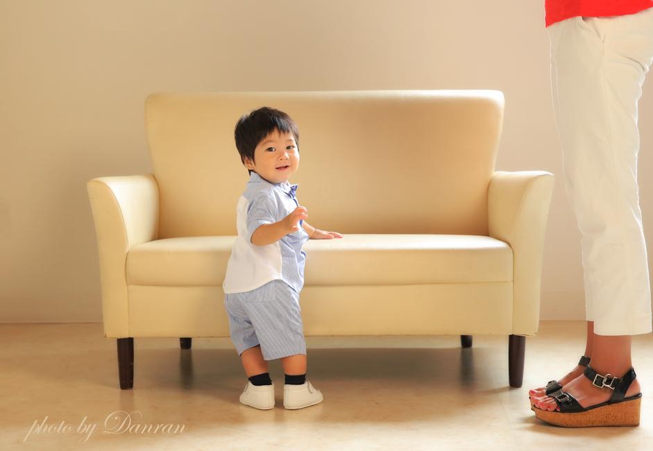 山口県 下関 写真スタジオ 1歳 家族写真 カメラマン