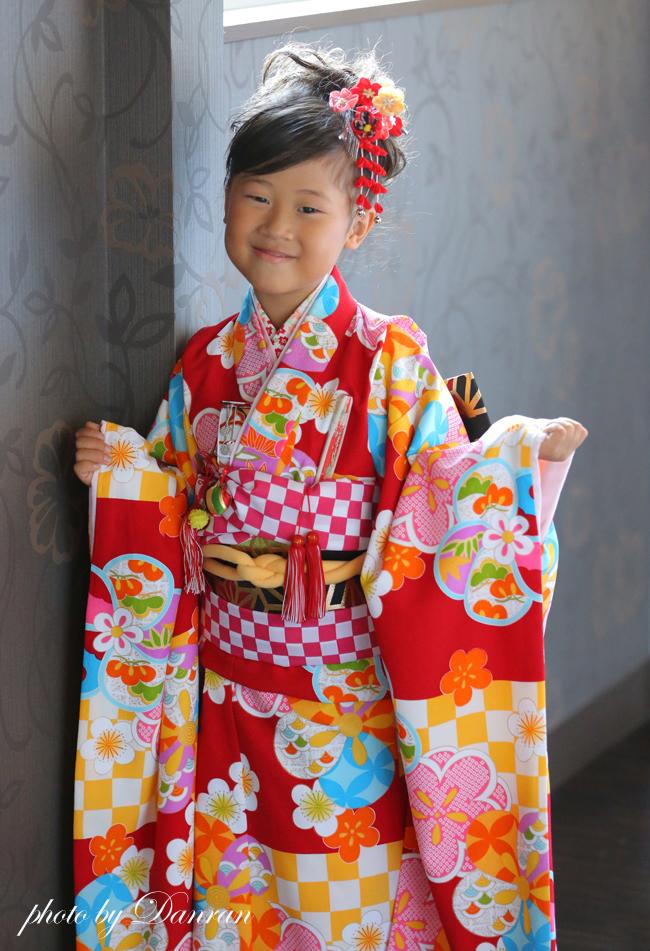 山口県 下関市 七五三 写真館 貸衣装 7歳