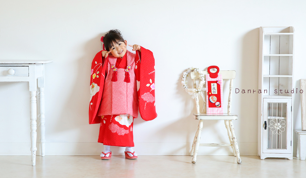 山口県 下関 七五三 お参り 写真 貸衣装 衣装レンタル