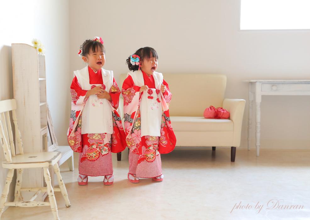 下関市でお宮参りや家族の記念写真の写真館はだんらんスタジオ 「撮れたて写真」