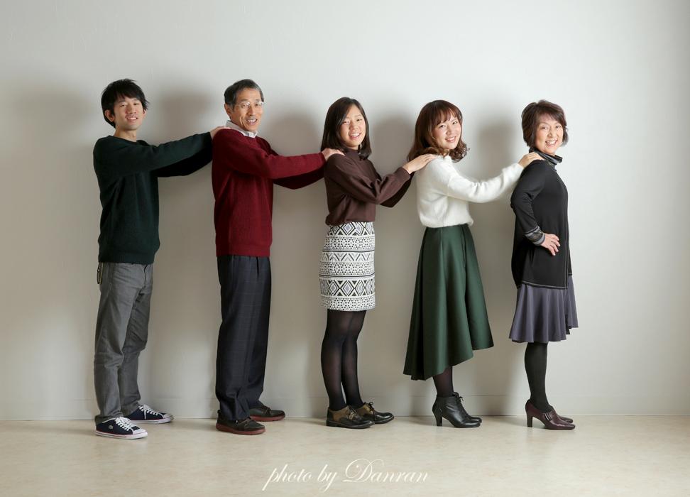 下関市 写真館 家族写真