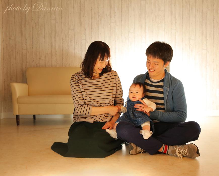 山口県下関市で、家族写真が人気の写真館だんらんスタジオ(住吉神社さんから車で約10分)
