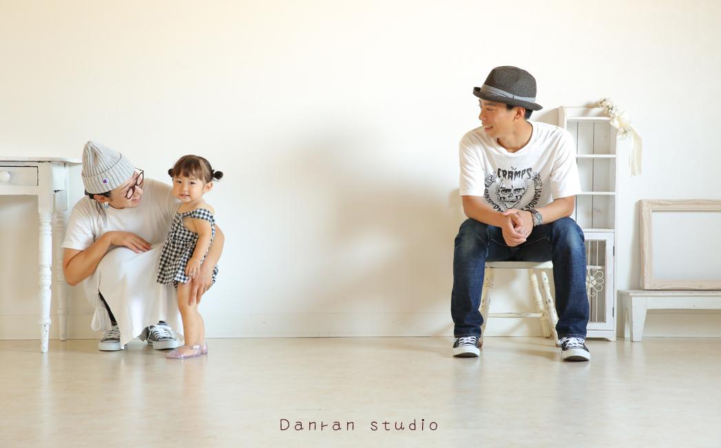 山口県下関市で家族写真の写真館は人気のだんらんスタジオへ