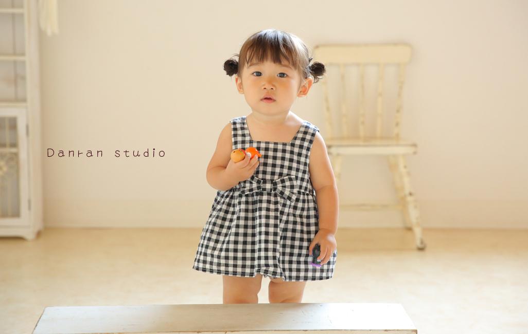 山口県下関市で1歳のお誕生日記念や子供写真が人気の写真館