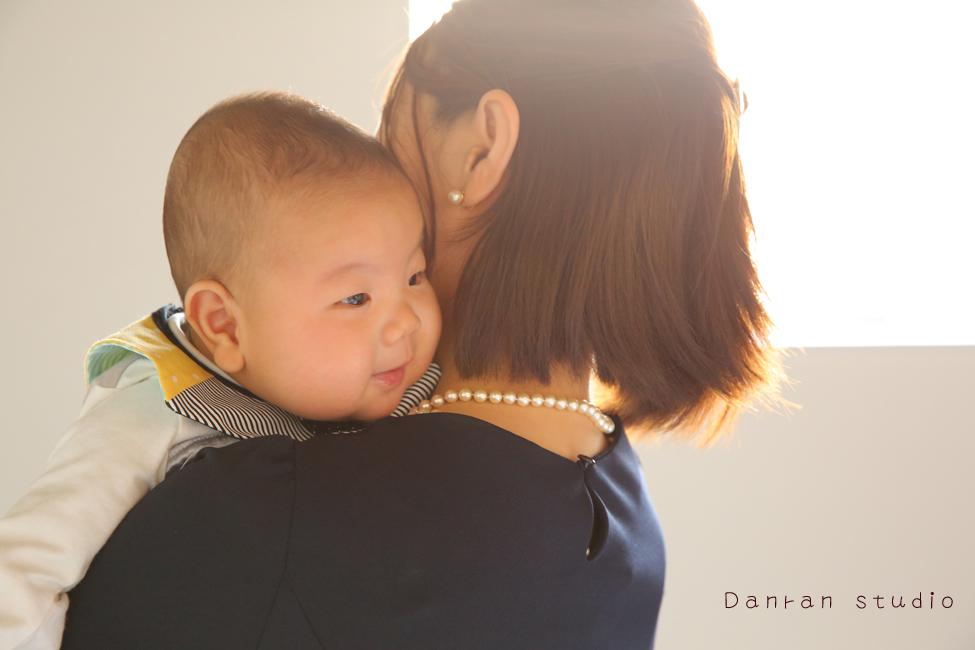 山口県下関市でお宮参りなど、赤ちゃん写真はだんらんスタジオへ