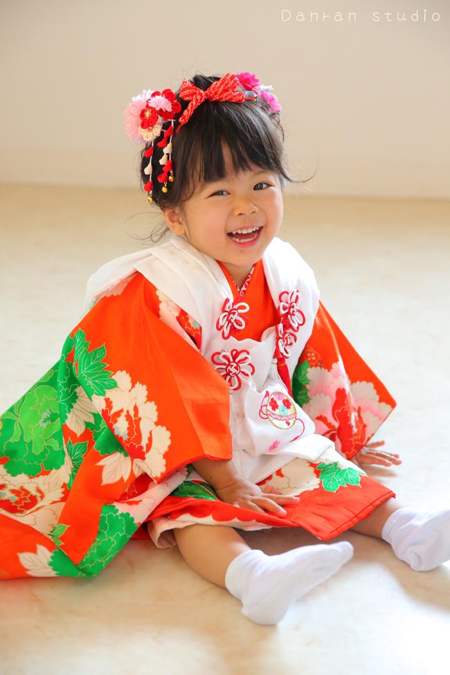 下関市の七五三写真と貸し衣裳着物レンタル