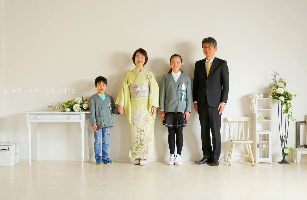 山口県下関市の写真館で、家族写真を撮りませんか