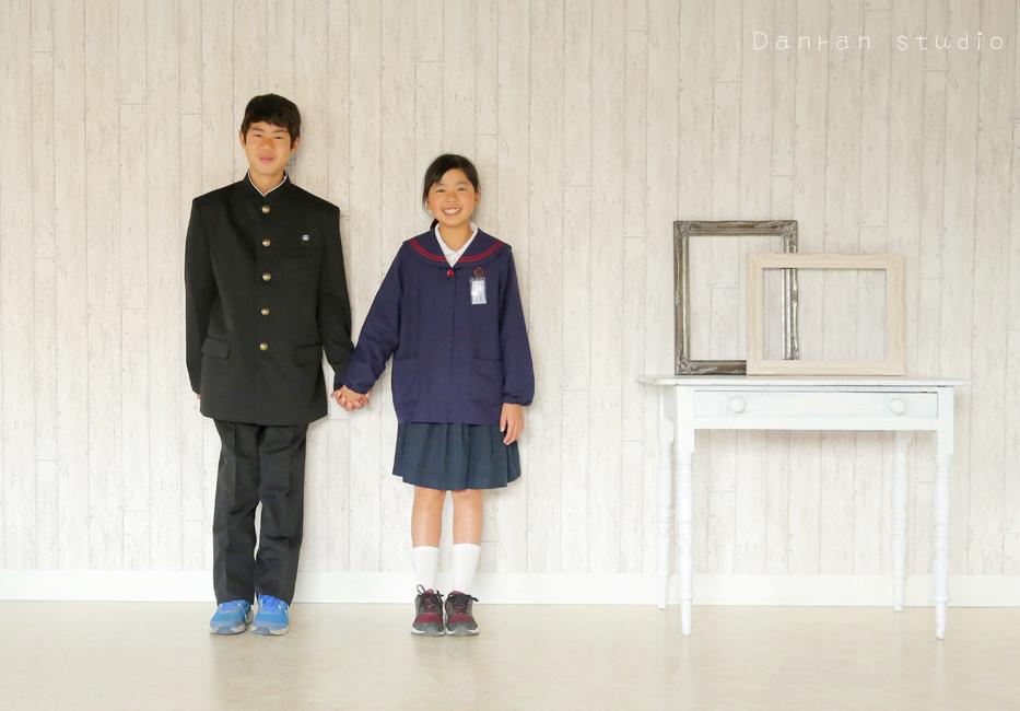 下関市の入学式の記念写真ならだんらんスタジオ下関市の写真スタジオ