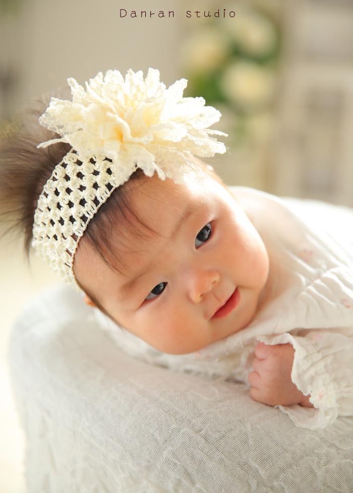 お宮参り・百日祝い・ニューボーン・ハーフバースデーなど赤ちゃん写真は下関市の人気写真館だんらんスタジオ