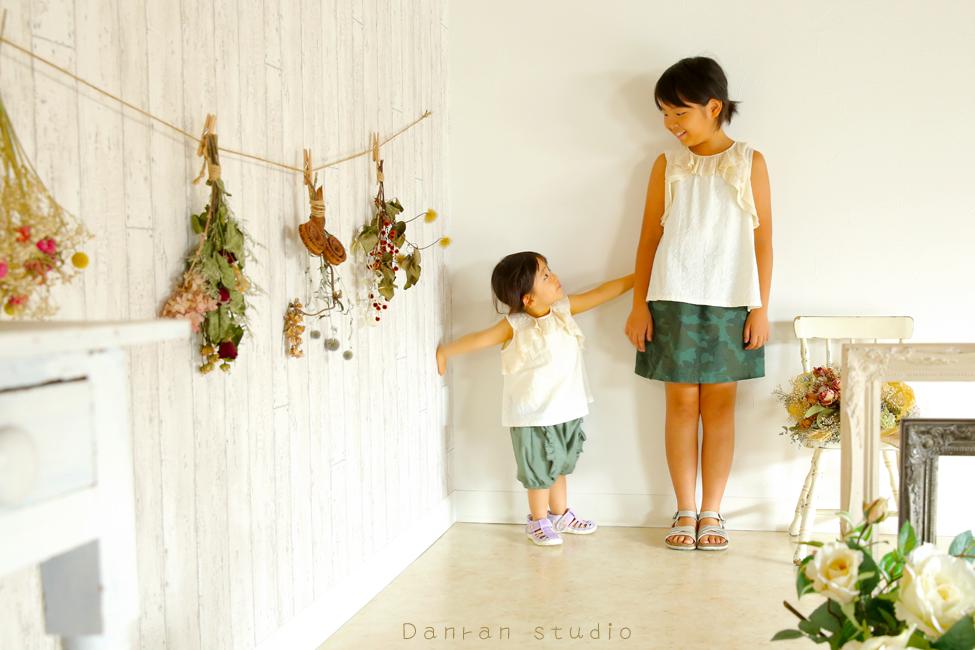 オシャレでかわいい子供写真なら山口県下関市の写真館だんらんスタジオへ