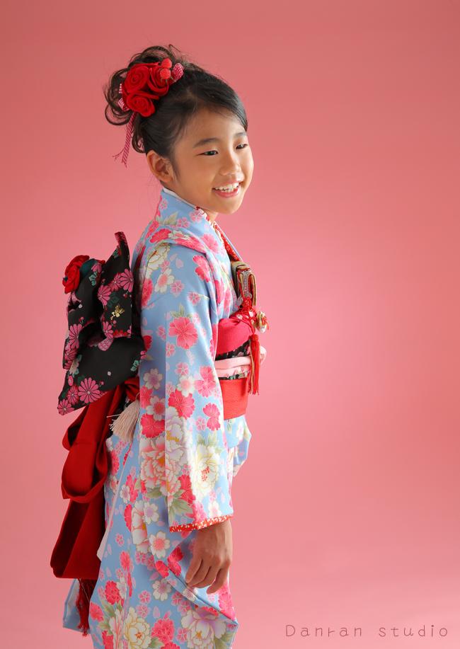 七五三のお祝い貸衣装と写真の撮影はだんらんスタジオ|山口県下関市の写真スタジオ