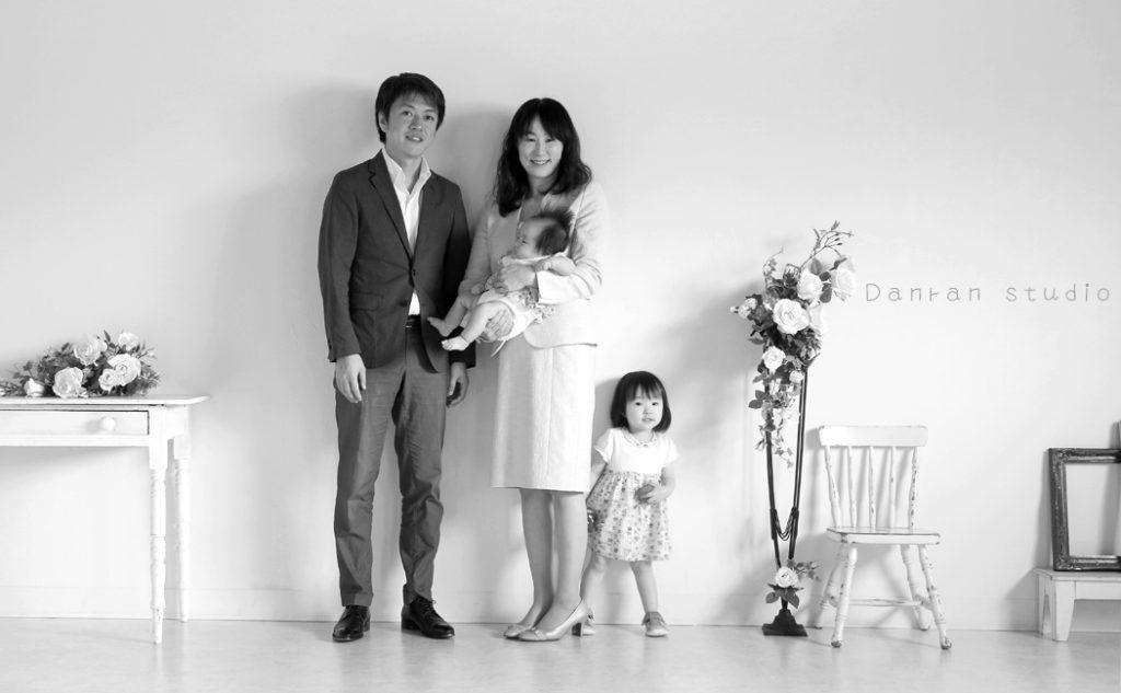山口県下関市でお祝いや記念には家族写真を撮りましょう