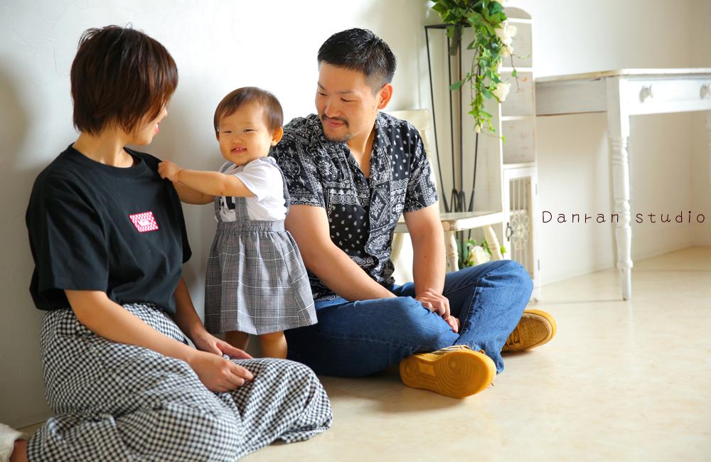 子供写真、家族写真は山口県下関市の写真館