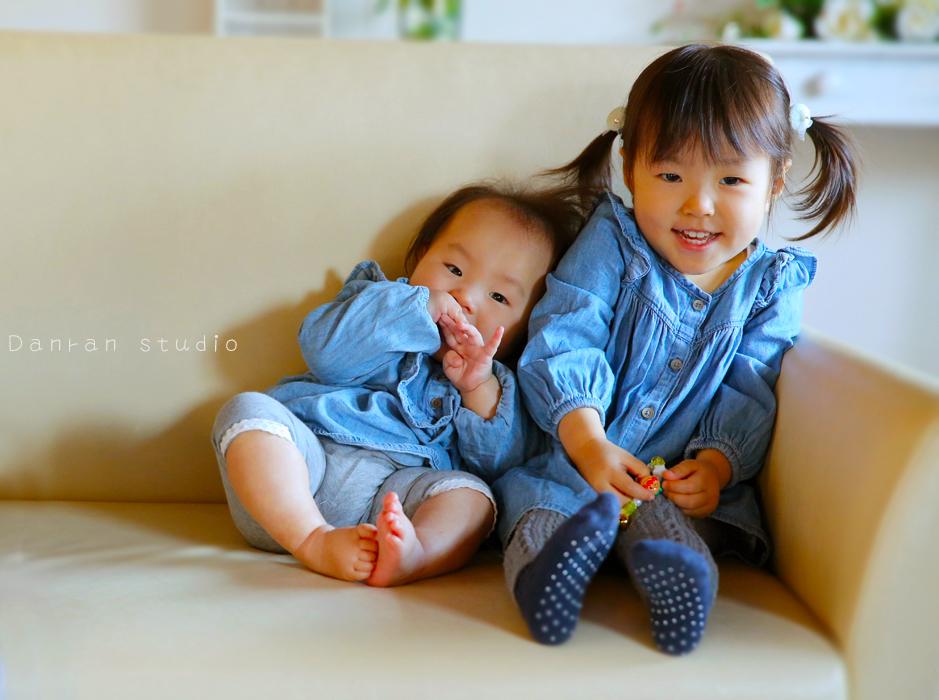 山口県下関市でハーフバースデーの赤ちゃん写真ならかわいく撮れる写真スタジオのカメラマンにお任せ